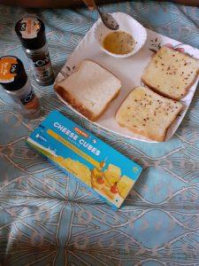 Cheese burst bread