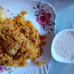 New dish of Mithila style Masoor dal Bari gravy